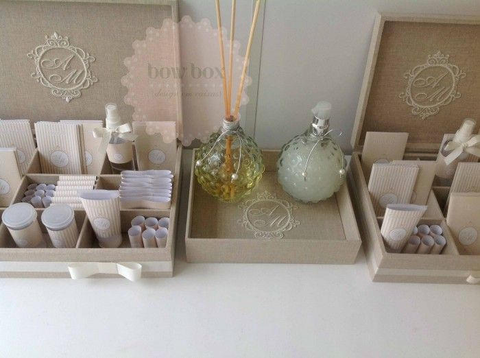 idee matrimonio kit toilette